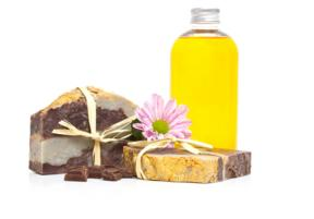 Jojoba oil andsoap