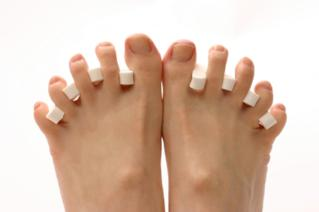 Toe separators