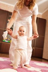 Babys first steps